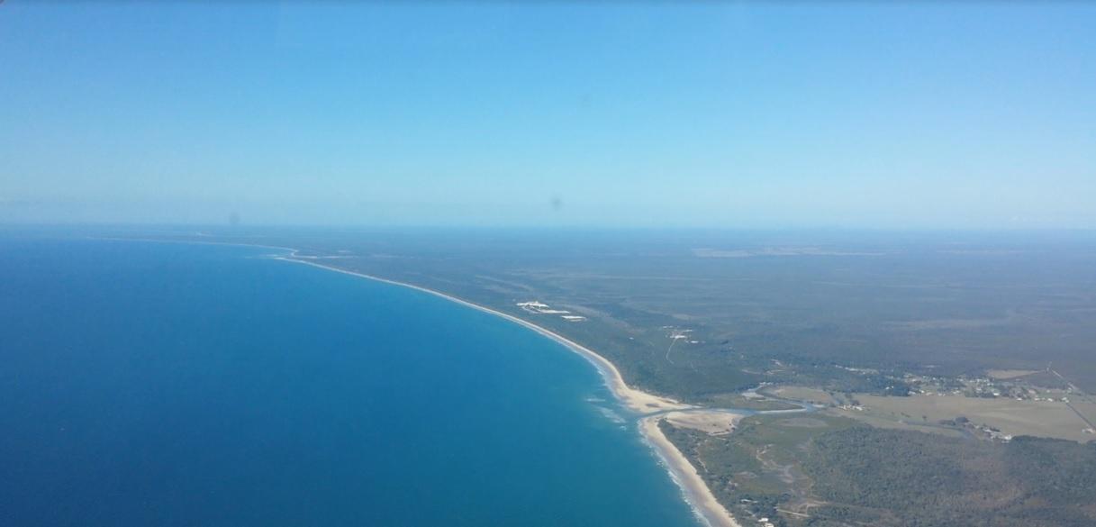 Coral Sea Coastline