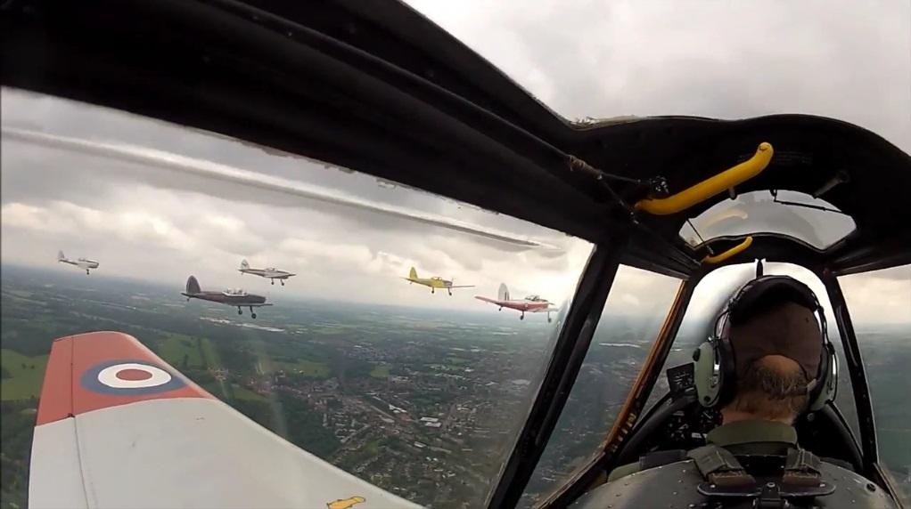 Formation De Havilland Chipmunks